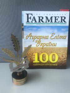 Аграрний напрямок ТОВ Епіцентр К» в ТОП-100 найкращих агропідприємств України
